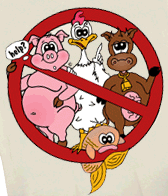 Image result for no meat cartoon images
